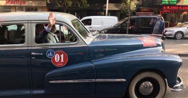 Cumhuriyetin 97. Yılına Klasik Otomobiller Damga Vurdu