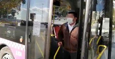 Koronalı Otobüs Şoförü İşi Başında Yakalandı