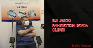 Sağlık Bakanı Aşı Oldu
