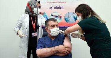 Fahrettin Koca'nın İnaktif Aşı Açıklaması