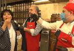 Safiye Soyman'a Çiğköfteden Pasta
