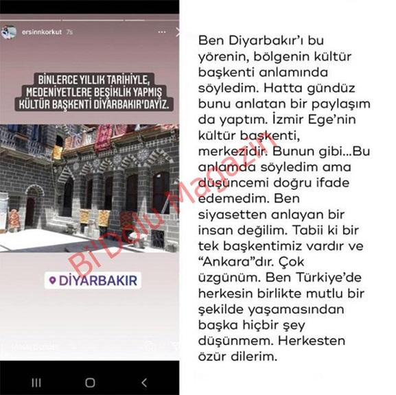 Ersin Korkut Başkent Diyarbakır