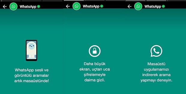 whatsapp yeni özelliği
