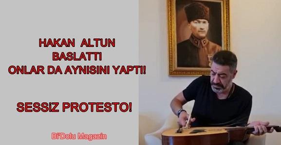 Enstrümanlarını Kırarak Protesto Ettiler